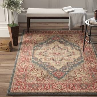 Dulin Blue Rust Red Area Rug Reviews Joss Main Red Area Rug Area Rugs Red Rugs