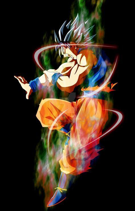 Goku Doing Hakai