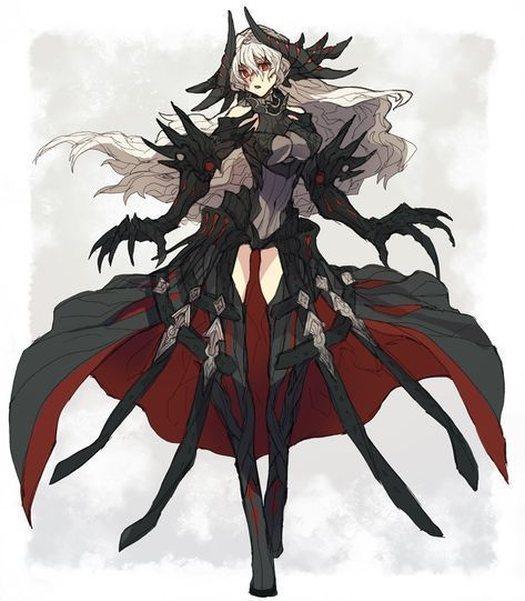 High School Dxd Darklight Dragon Female Y N Bio Anime Character Design Concept Art Characters Fantasy Character Design