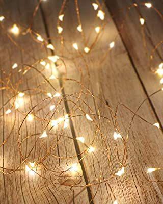 Litogo Guirnalda Luces Pilas Luces Led Pilas Luces Led Habitacion 5m 50 Led Luces De Cadena Micro Con Pi Luces De Navidad Luces Led Habitacion Luces De Hadas