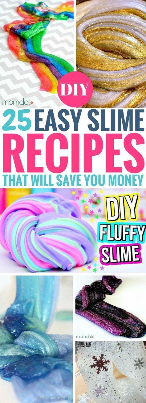 Cara Membuat Slime Menggunakan Lem Fox : membuat, slime, menggunakan, Slime, Recipes, Honesty, Thing, Ever!, They're, Cheap, Make., Can't, Homemade, Recipe,, Slime,, Recipe