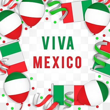 Mexico Independence Day With Ballon Ribbon Flag Mexico Banner Event Png Transparent Clipart Image And Psd File For Free Download Independence Day Print Design Template Purple Flower Background