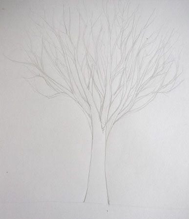 comment-dessiner-un-arbre-dessin-creation Dessins Pinterest - comment dessiner une maison en 3d