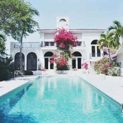 lolo berry chillin out maxin relaxin by the pool at sanibel island fl - Nice Big Houses With Pools
