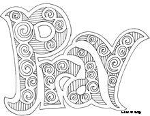 Doodle art grace - nice coloring page for older kids | Sunday School ...