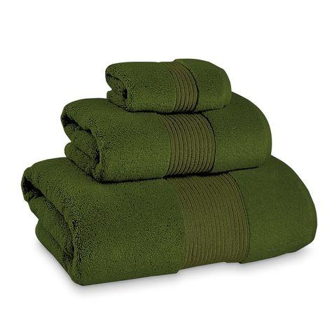 Chambers Hydrocotton Bath Towel Fern Green Bathroom Green Towels White Towels