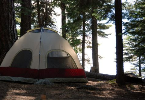 best tent camping in california