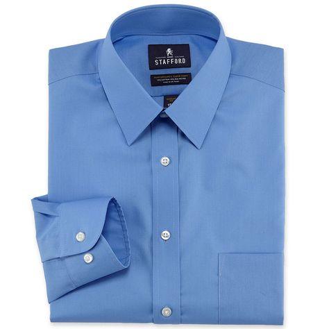 8a70815889270 Stafford Travel Easy-Care Broadcloth Dress Shirt