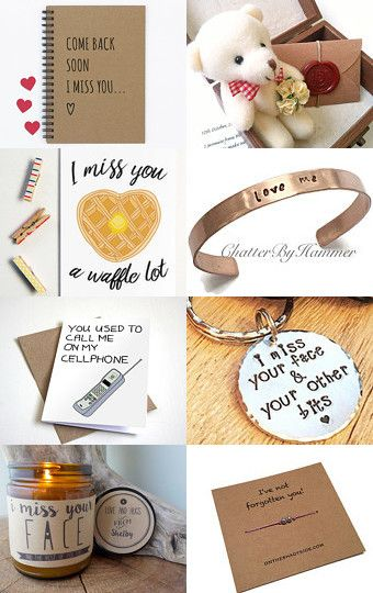 i miss you gift ideas for boyfriend