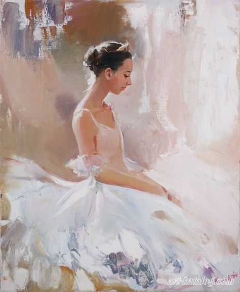 Ballet dancer by Kalyn Tatyana