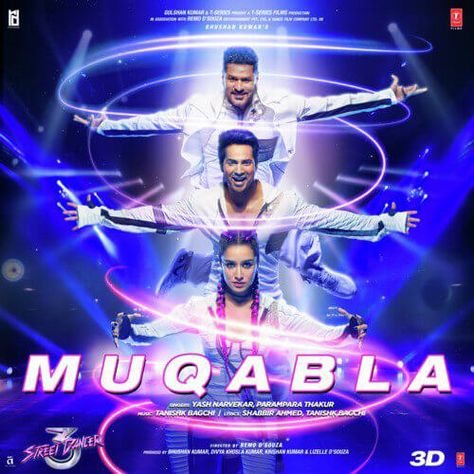 Muqabla Muqabla Street Dancer 3d Hindi Songs Mp3 Song