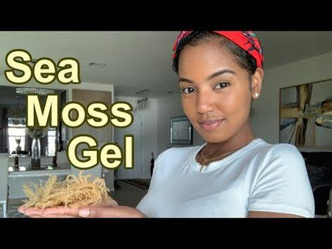 How To Make Sea Moss Gel Youtube