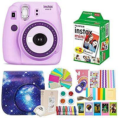 Fujifilm Instax Mini 9 Camera Purple Fuji Instax Mini Film Instax Mini 9 Case Instax Accesso Instax Mini Film Instax Mini Fujifilm Instax Mini