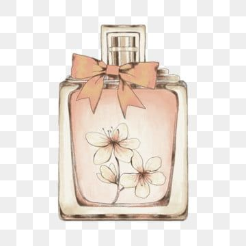 Pink Hand Draw Perfume Bottle With Flowers Very Dreamy And Girly Perfume Flowers Perfume Bottle Png Transparent Clipart Image And Psd File For Free Download In 2021 Perfume Bottles Bottle Drawing