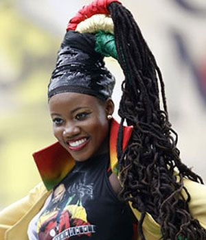 Rastafari Fashion- popular style that was inspired during the popularity of Bob Marley. Worn by followers of the rastafari religion, it is a style that consists of bright red, green, and yellow/gold colors.