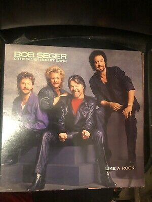 Details About Bob Seager And The Silver Bullet Band Like A Rock Silver Bullet Bob Seger Like A Rock