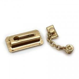 Dollhouse Door Chain Lock Door Chains Chain Lock Dollhouse Door