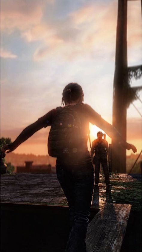 The last of us | TLOU | Ellie Williams and Joel Miller | moment