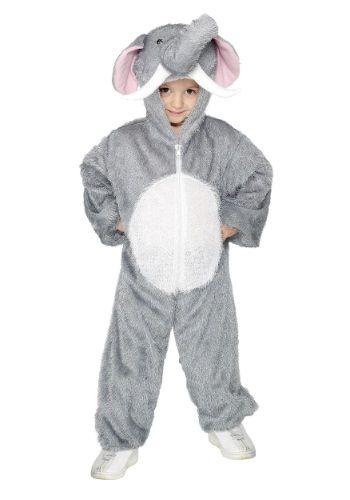 Baby Girls Boys Grey Elephant Zoo Animal Halloween Fancy Dress Costume Outfit