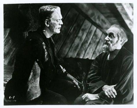 A Lovely Photo Of The Hermit Scene In Bride Of Frankenstein 1935