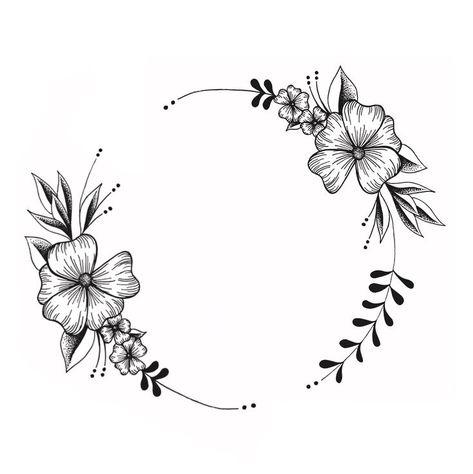 Next tattoo?? 🤔 Drawn by Lucie Nouhant.- Next tattoo?? 🤔 Drawn by Lucie Nouhant.  #tattoo #tattooidea #inspiration #design #graphique   -#bigflowersdrawing #flowersdrawingaesthetic #flowersdrawingloto #flowersdrawingstepbystep #geometricflowersdrawing