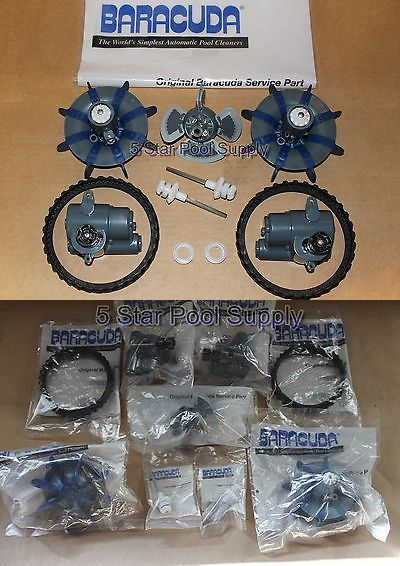 Pool Cleaners And Vacuums 181063 Zodiac Baracuda Mx8 Complete Overhaul Tune Up Kit Oem Pool Cleaner Parts New Buy It Now O Pool Cleaning Pool Supplies Pool