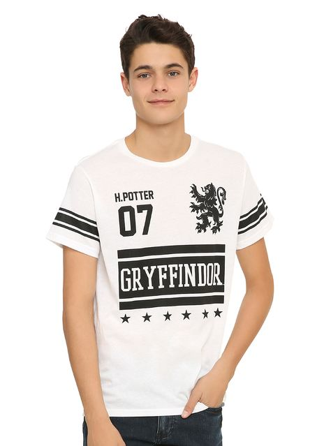 HARRY POTTER ni/ños Hogwarts Varsity Camiseta
