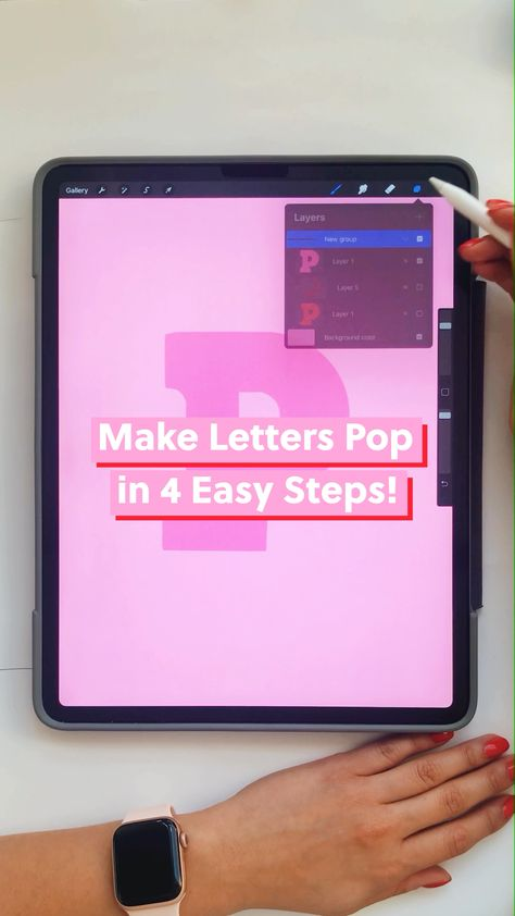 Make a better letter in 4 steps!