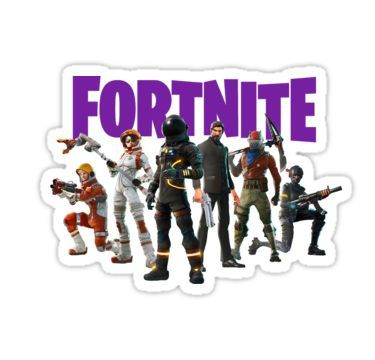 Fortnite Season 3 Sticker Decoracion Fiesta Cumpleaños