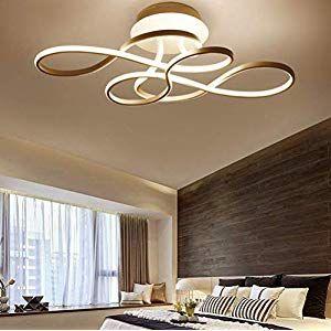 Modern Wohnzimmer LED Deckenleuchte Dimmbar mit ...