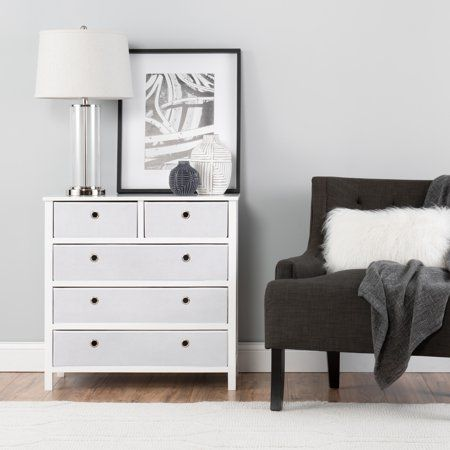 Foldable Furniture Split 5 Drawer Single Dresser Achim Ez Home Solutions Walmart Com Foldable Furniture Furniture Big Furniture