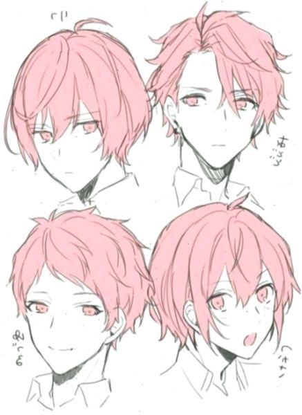 Trendy Drawing Anime Hairstyles Boys Art Ideas Hairstyles Hairstylesdrawing Anime Drawings Tutorials Anime Boy Hair Manga Hair