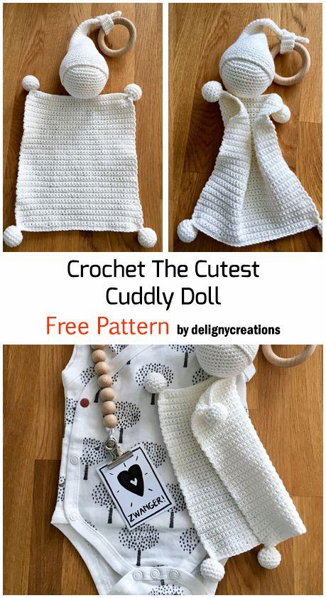 Crochet The Cutest Cuddly Doll - Free Pattern