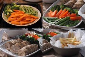 Just Try Taste Galantine Daging Sapi Ayam Dengan Sayuran Rebus Dan Kentang Goreng Daging Sapi Resep Makanan Kentang Goreng