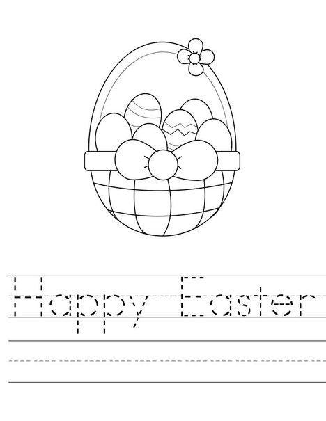 Easter Preschool Worksheets Best Coloring Pages For Kids Easter Preschool Worksheets Easter Preschool Easter Worksheets Preschool easter worksheets for