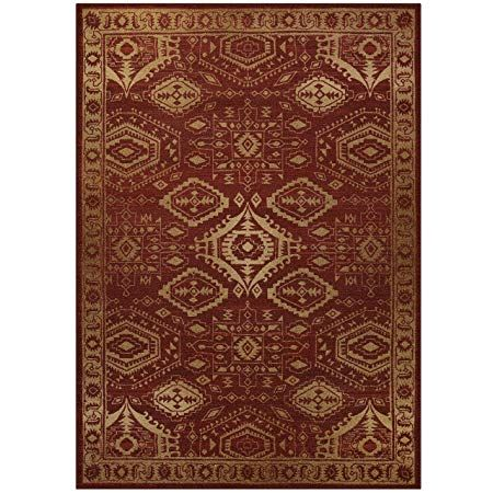 Area Rugs Maples Rugs Made In Usa Georgina 7 X 10 Non Slip Padded Large Rug For Living Room Bedroom And Dining Room Maples Rugs Tufted Rug Area Rugs Area rugs made in usa