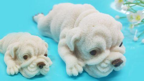 ว นแฟนซ I ว ธ ทำว นหมาป ก น าร กๆ ด วยพ มพ ซ ล โคนหมา Pug Puppy Jelly