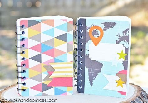 How To Make A Notebook Using Project Life Cards