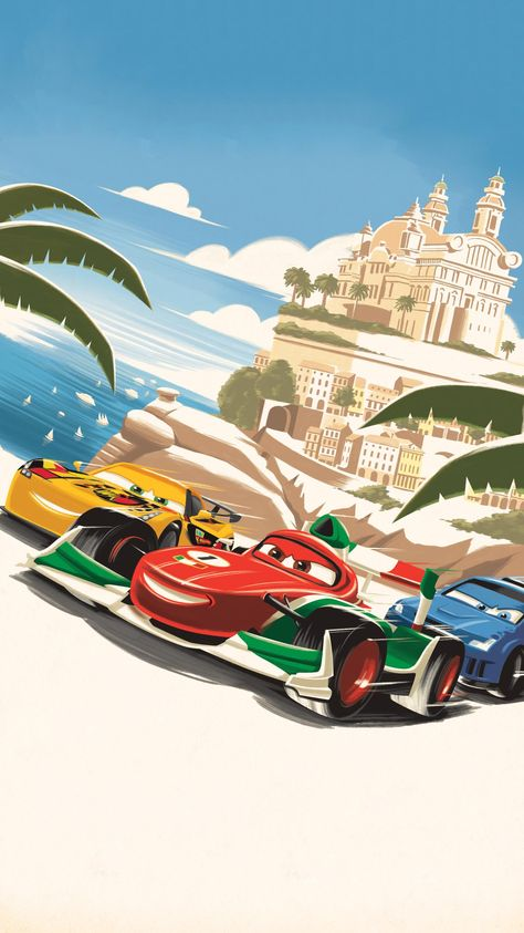 Cars 2 (2011) Phone Wallpaper | Moviemania