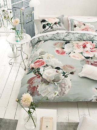Designers Guild Peonia Grande Bedding Bed Linen Design Contemporary Bed Linen Bed