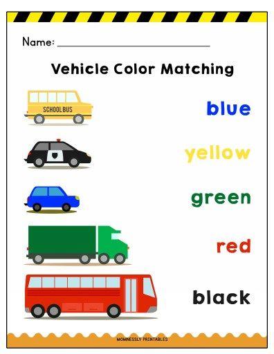 Transportation Themed Coloring Worksheets Https Tribobot Com Transportation Preschool Transportation Theme Preschool Color Worksheets Printable transportation worksheets for