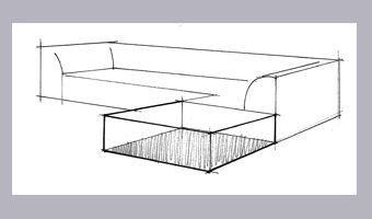 Couch Drawing how to draw couches in 2point perspective | next lets draw the