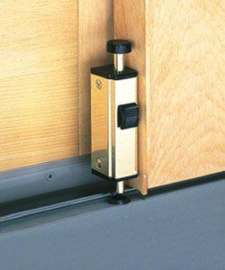 Merveilleux How To Add A Lock To A Sliding Glass Door : How To : DIY Network | Garage  Door Ideas | Pinterest | Sliding Glass Door, Diy Network And Glass Doors