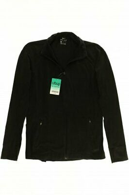 Nike Jacke Damen Mantel Gr. INT L Elasthan Baumwolle schwarz