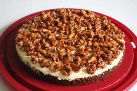Gebrannte Mandeln Torte Rezept Gebrannte Mandeln Kuchen Und Torten Rezepte Mandeln