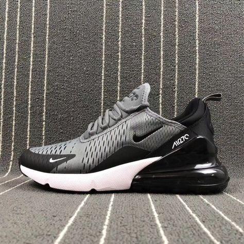 Nike Air Max 270 Grey Black White Shoes Best Price AH8050 003