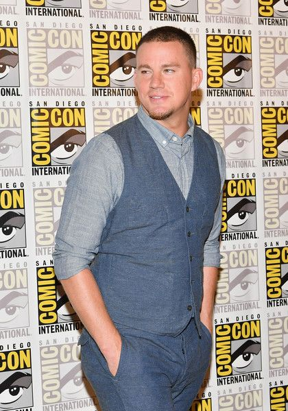 "Actor Channing Tatum at the ""Kingsman: The Secret Service"" press line at Hilton Bayfront during Comic-Con International 2017 on July 20, 2017 in San Diego, California."