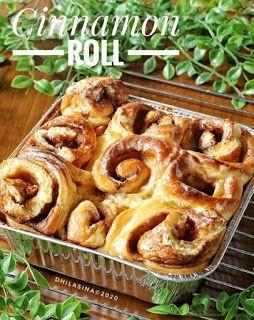 Cinnamon Roll Roti Kayu Manis Resep Makanan Dan Minuman