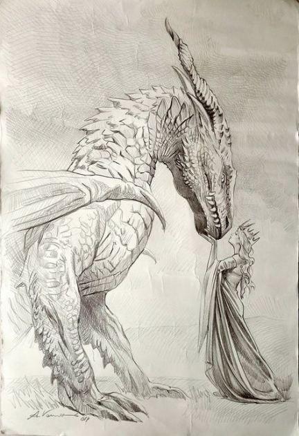 Trendy Fantasy Art Black And White Pictures Ideas Art Dragon