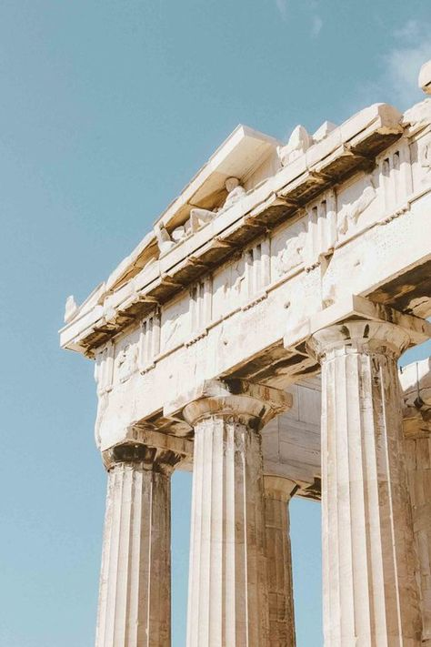 Greek Gods And Goddesses, Greek Mythology, Ancient Greek Architecture, Art And Architecture, Travel Aesthetic, Aesthetic Photo, Aesthetic Backgrounds, Aesthetic Wallpapers, Ancient Greece
